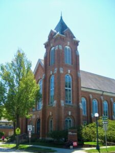 First Presbyterian Church in Champaign, Illinois
